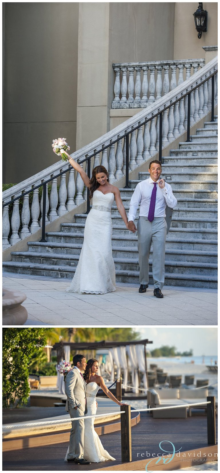 the ritz wedding just married ritz carlton grand cayman