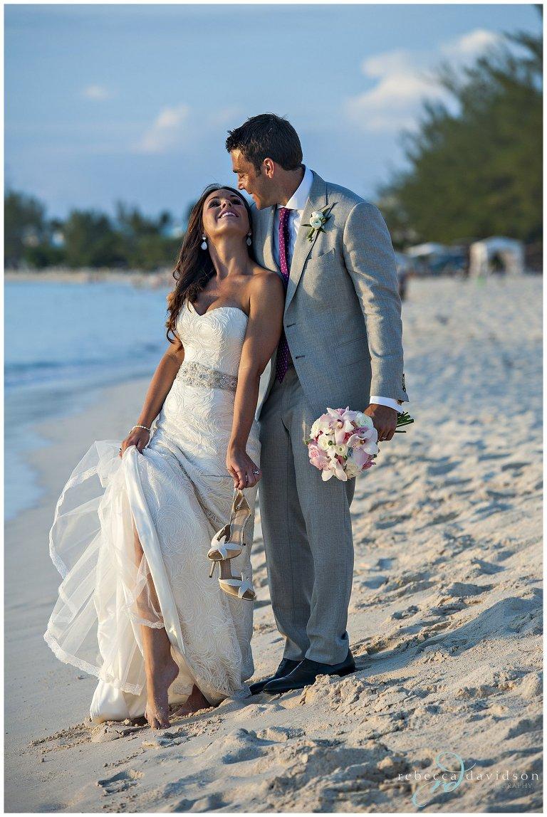 the ritz wedding seven mile beach wedding