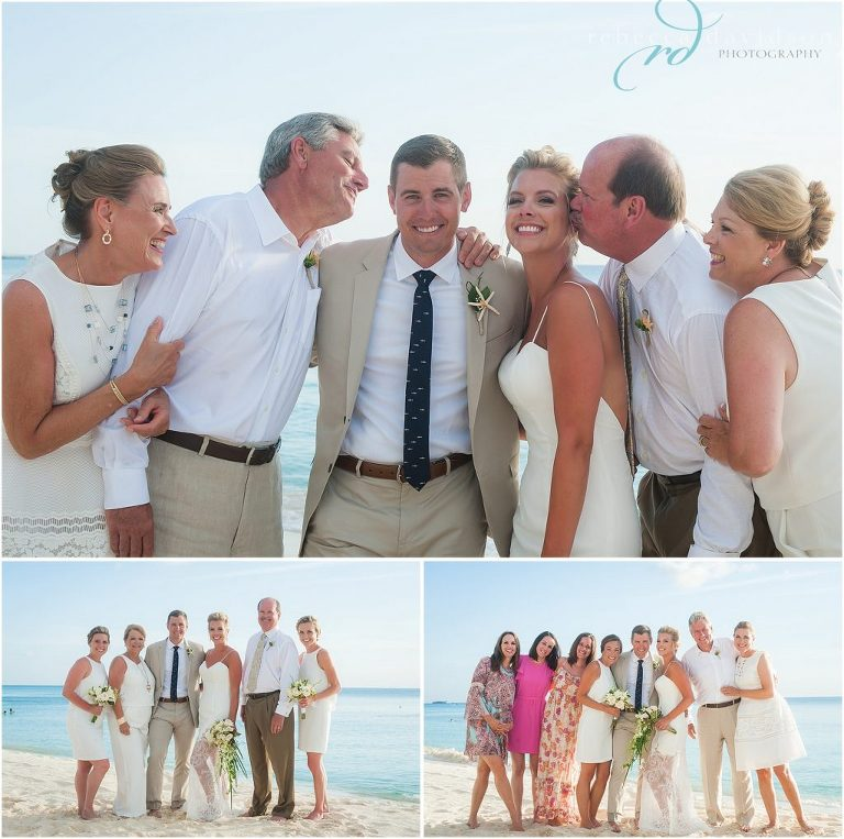 family shots on seven mile beach