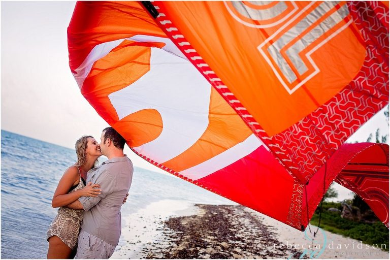 kite surfing sail