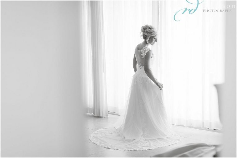black_and_white_bride_in_dress