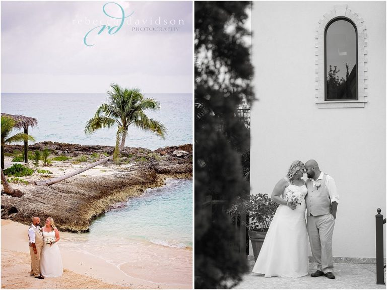 beach front wedding cayman