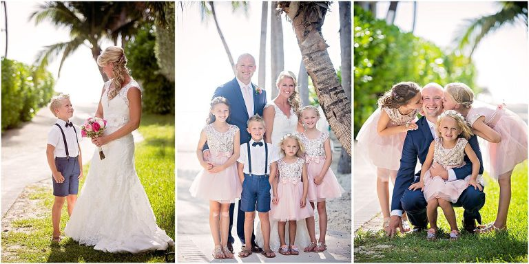 little bridesmaids in pink