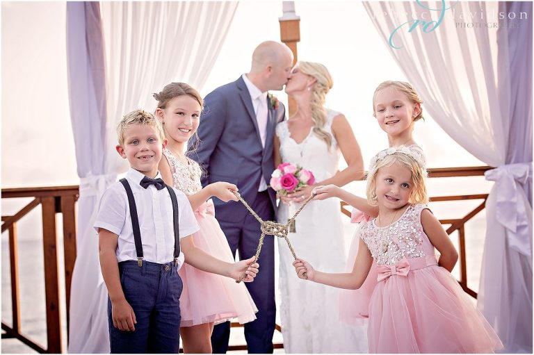 family ties the knot