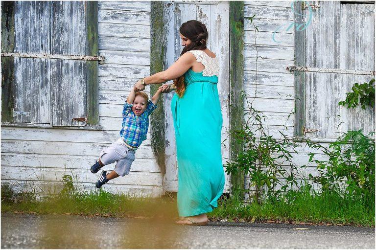 spinning son around
