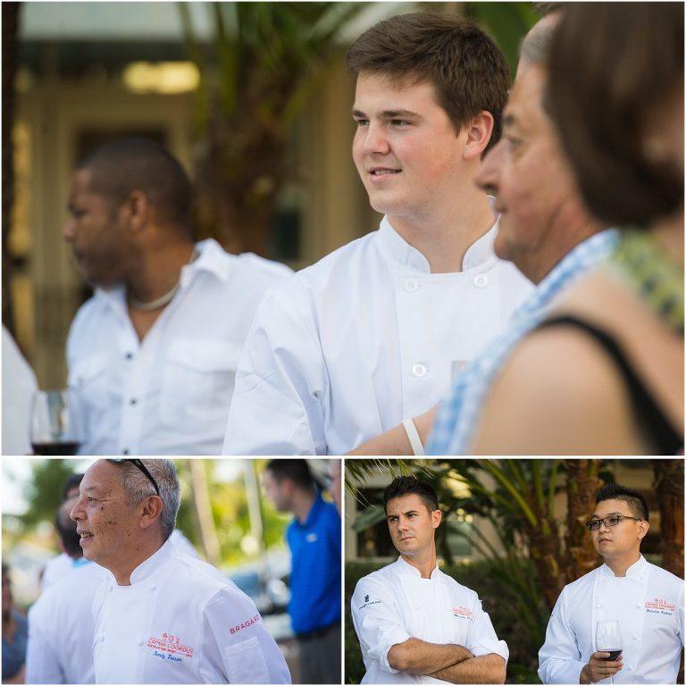 chefs from local restaurants