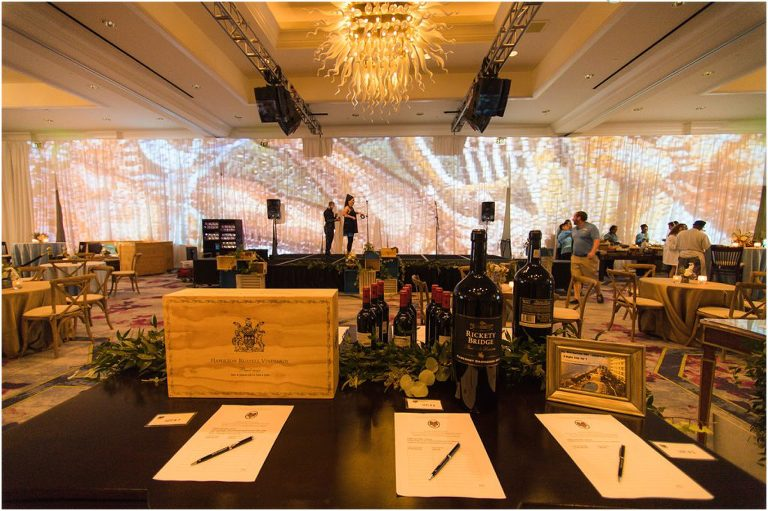 silent auction for wine