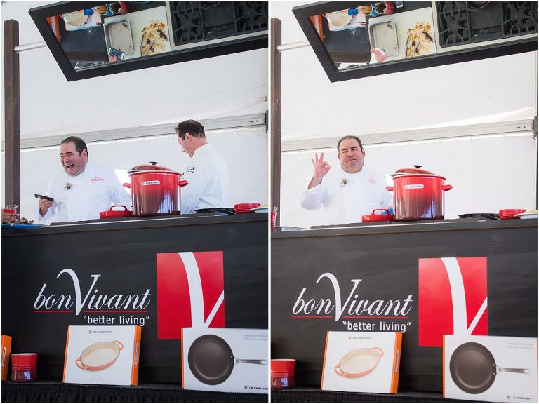 chef emeril and bon vivant