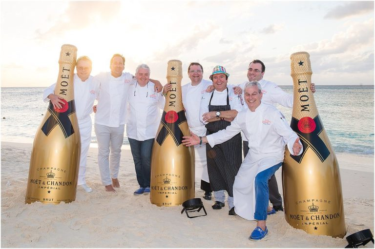 celebrity chefs with moet