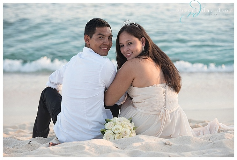 This Super Sweet Wedding On Seven Mile Beach Between Kevin And Maryury Was So Lovely Surrounded By Their Family Friends These Two Said I Do Under A